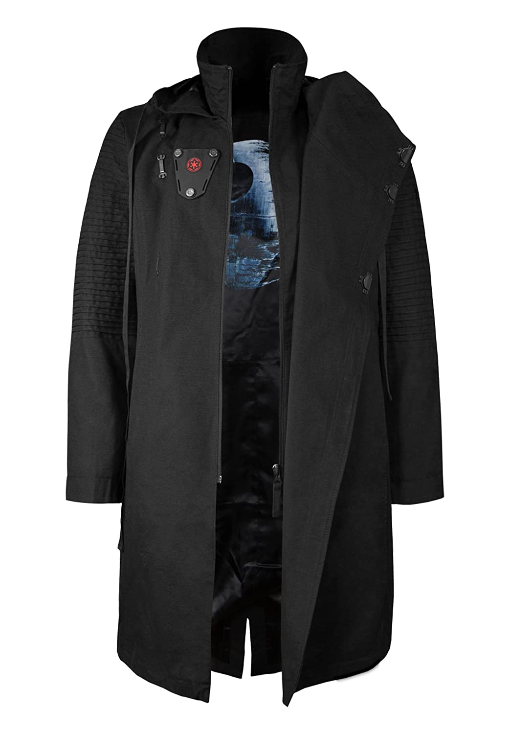 TALLA S. Musterbrand Star Wars Chaqueta Hombre Sith Lord Limited Edition Chaqueta Negro