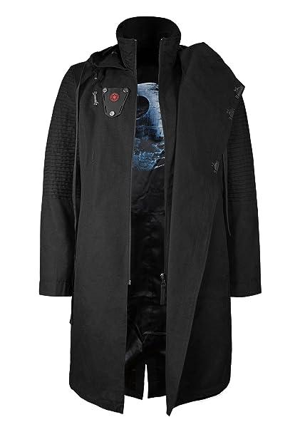 Musterbrand Star Wars Chaqueta Hombre Sith Lord Limited Edition Chaqueta Negro: Amazon.es: Ropa y accesorios