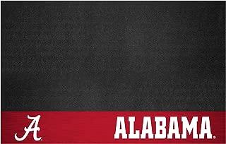"product image for FANMATS - 12115 NCAA University of Alabama Crimson Tide Vinyl Grill Mat, Black, 26""x42"""