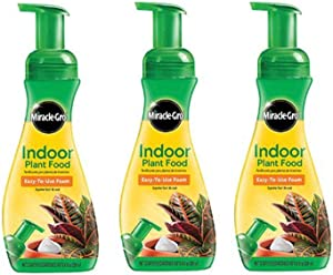 Miracle-Gro 100055 Indoor Plant Food, (3)