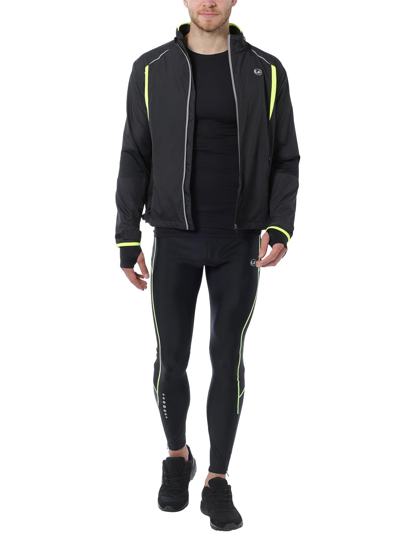 Ultrasport Herren Stretch Delight Running-Bikingjacke