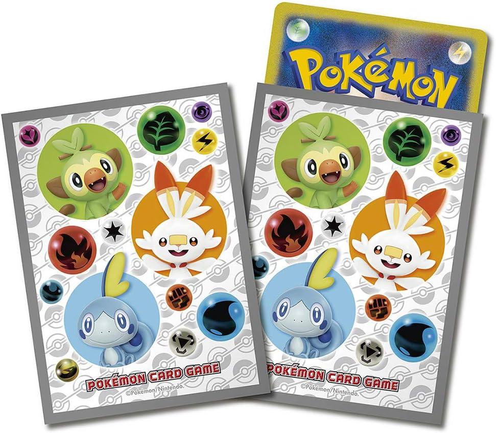 Pokemon Juego de Cartas Deck Shield Sarnori Hibani Messon: Amazon.es: Juguetes y juegos