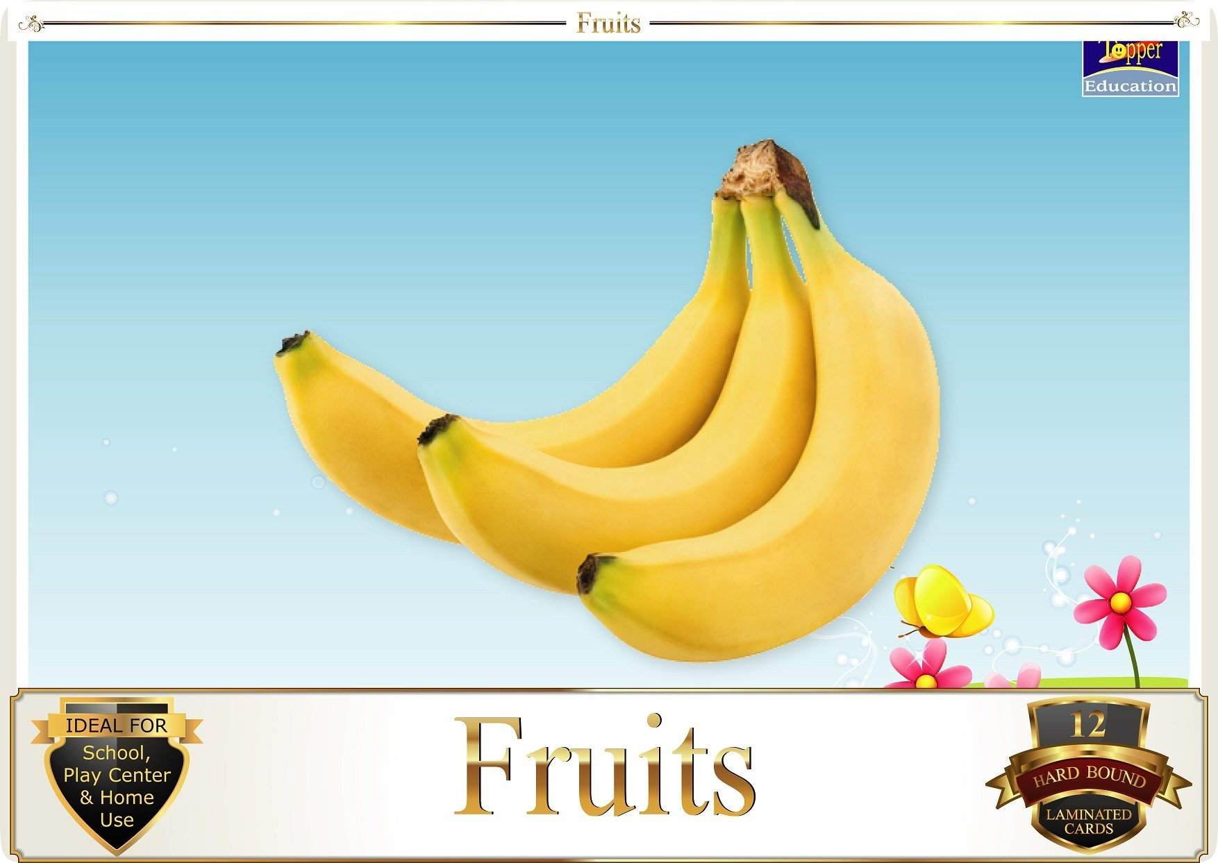 Topper : Kiddies Flash Cards - Fruits product image