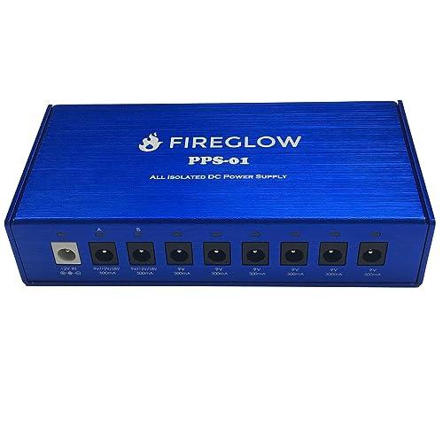 FIREGLOW オールアイソレーテッド ペダル電源供給ユニット PPS-01