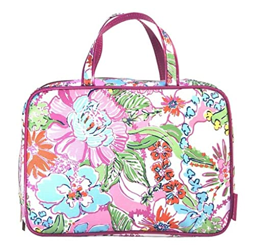 2b840a7b0f Lilly Pulitzer for Target Weekender Makeup Bag Nosie Posey  Amazon.ca   Shoes   Handbags