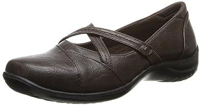 Super Cheap Easy Street Marcie Flats Black Womens Shoes Funh3u3m