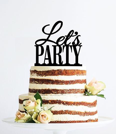 qidushop - Decoración moderna para tarta para tarta con ...