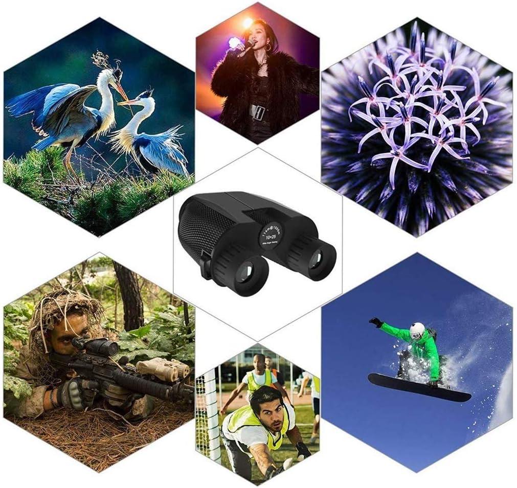 SummarLee 10x25 Binoculars Mini Portable High Power Binoculars Outdoor Handheld High Definition Telescopic Children