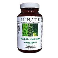 INNATE Response Formulas, Baby & Me Multivitamin, Prenatal and Postnatal Vitamin...