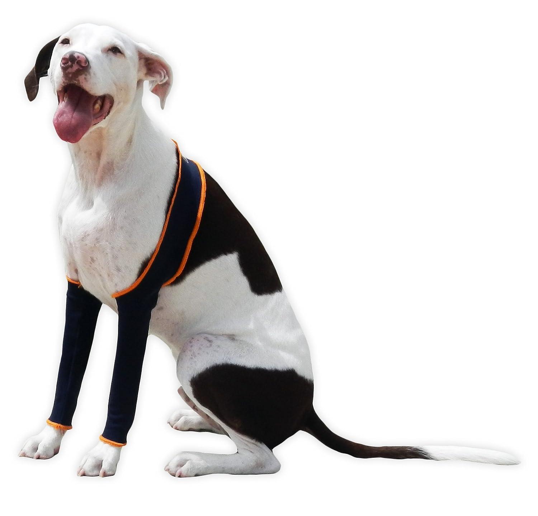 H4Legs Dog Leggings, Small, Navy bluee