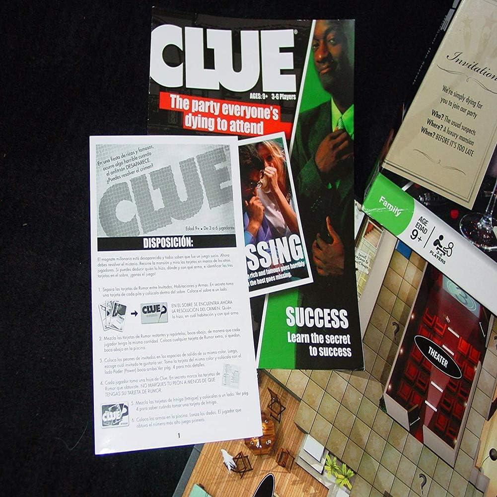 Iu Clue Juego DE Mesa [Descubrir LOS Secretos]: Amazon.es: Deportes y aire libre