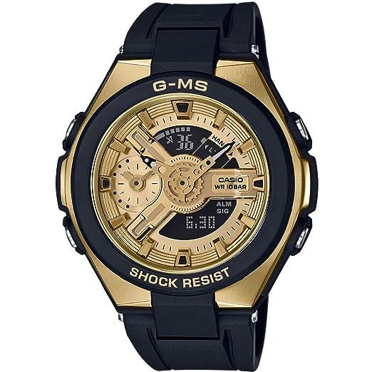 Casio Reloj Analógico-Digital para Mujer de Cuarzo con Correa en Plástico MSG-400G-1A2ER: Amazon.es: Relojes