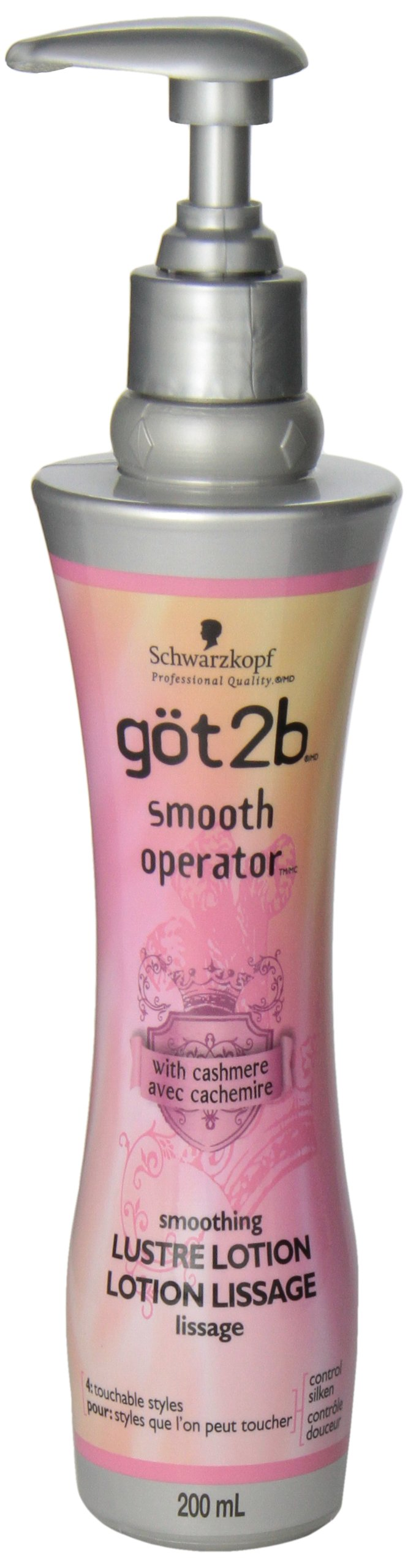 got2b Smooth Operator Leave In Conditioner Luxe Lotion 6.80 oz ( Pack of 3) by Got2B