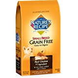 Nature's Recipe Small Breed Grain Free Easy to Digest Chicken, Sweet Potato & Pumpkin Recipe Dry Dog Food, 4-Pound