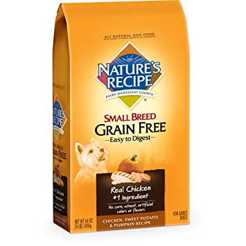 Amazon natures recipe grain free small breed dry dog food 4 natures recipe grain free small breed dry dog food 4 pound forumfinder Gallery