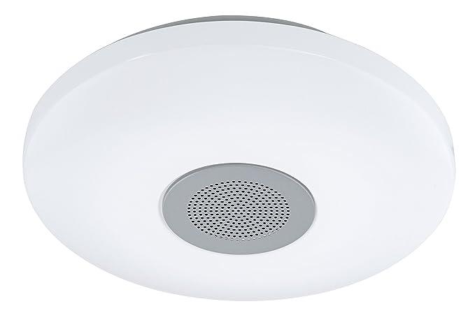 Plafoniera Led Eglo Prezzo : Lampada di 21 watt led soffitto luce bluetooth speaker illuminazione