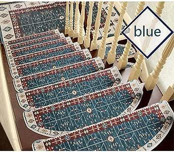XDBY - Protector de Escalera para Escalera, Antideslizante, protección para Sala de Estar, Hotel, auditorio, Azul, 100x24x3cm(1pcs): Amazon.es: Hogar