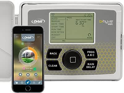Orbit B-hyve 12-Zone Smart Indoor/Outdoor Sprinkler Controller