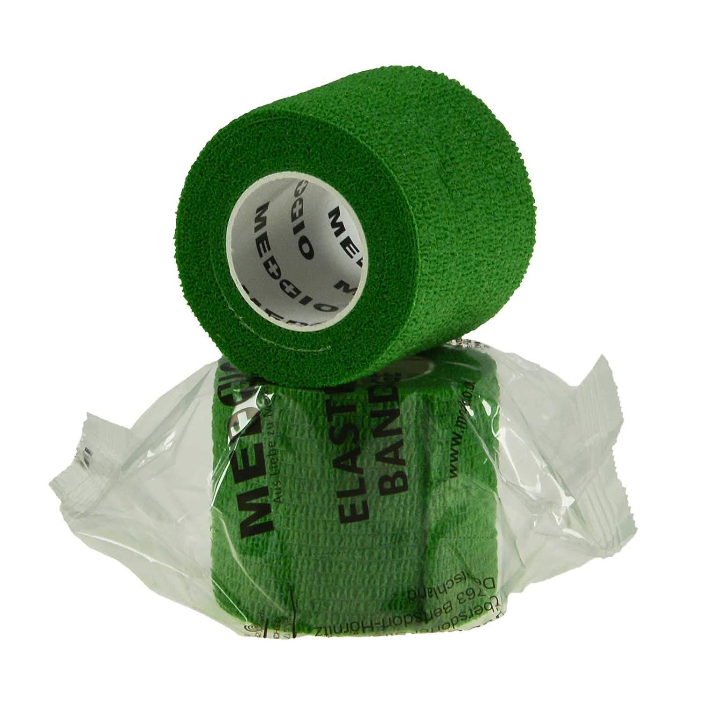Farbe:skin 12 Haftbandagen Gr/ö/ße+Farbe w/ählbar Gr/ö/ße:5cm selbsthaftende Bandage Fixierverband selbstklebend