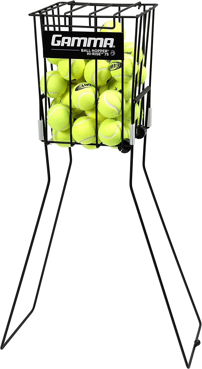 Amazon.com: GAMMA Hopper - Pelota de tenis, Negro: Sports ...