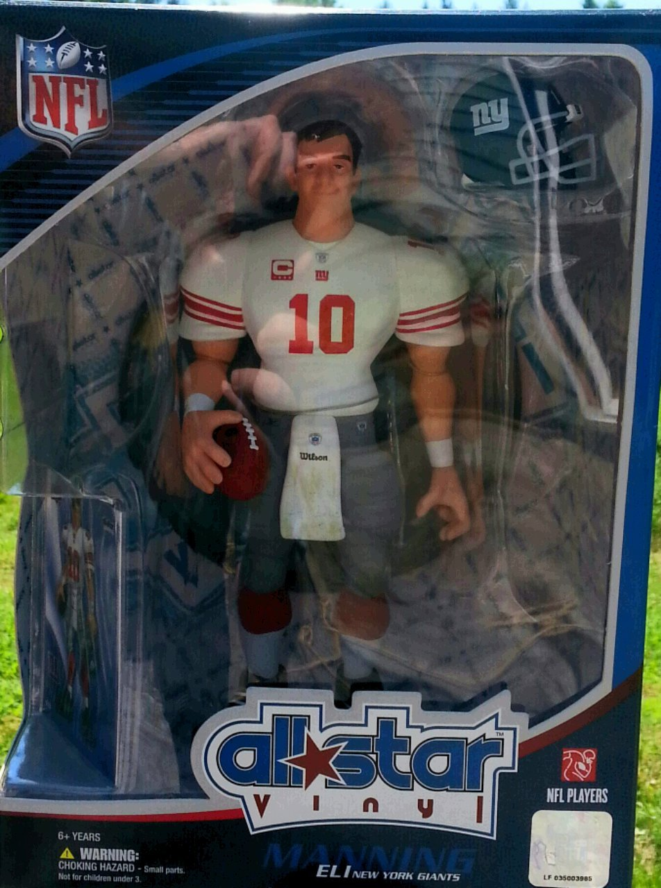 Amazon com: Upper Deck All Star Vinyl Eli Manning New York Giants