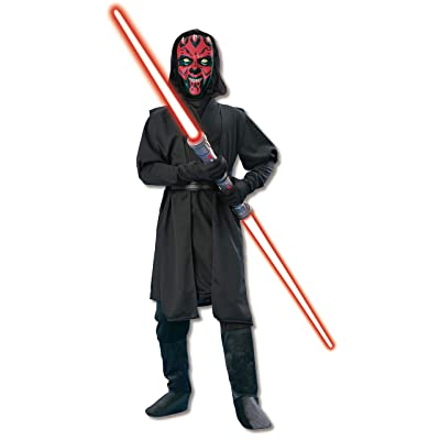 Rubie's Star Wars Deluxe Darth Maul Child's Costume, Medium - Medium One Color: Toys & Games