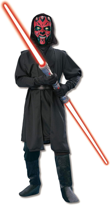 Disfraz de Darth Maul de Star Wars para niño de 3-4 años: Amazon ...
