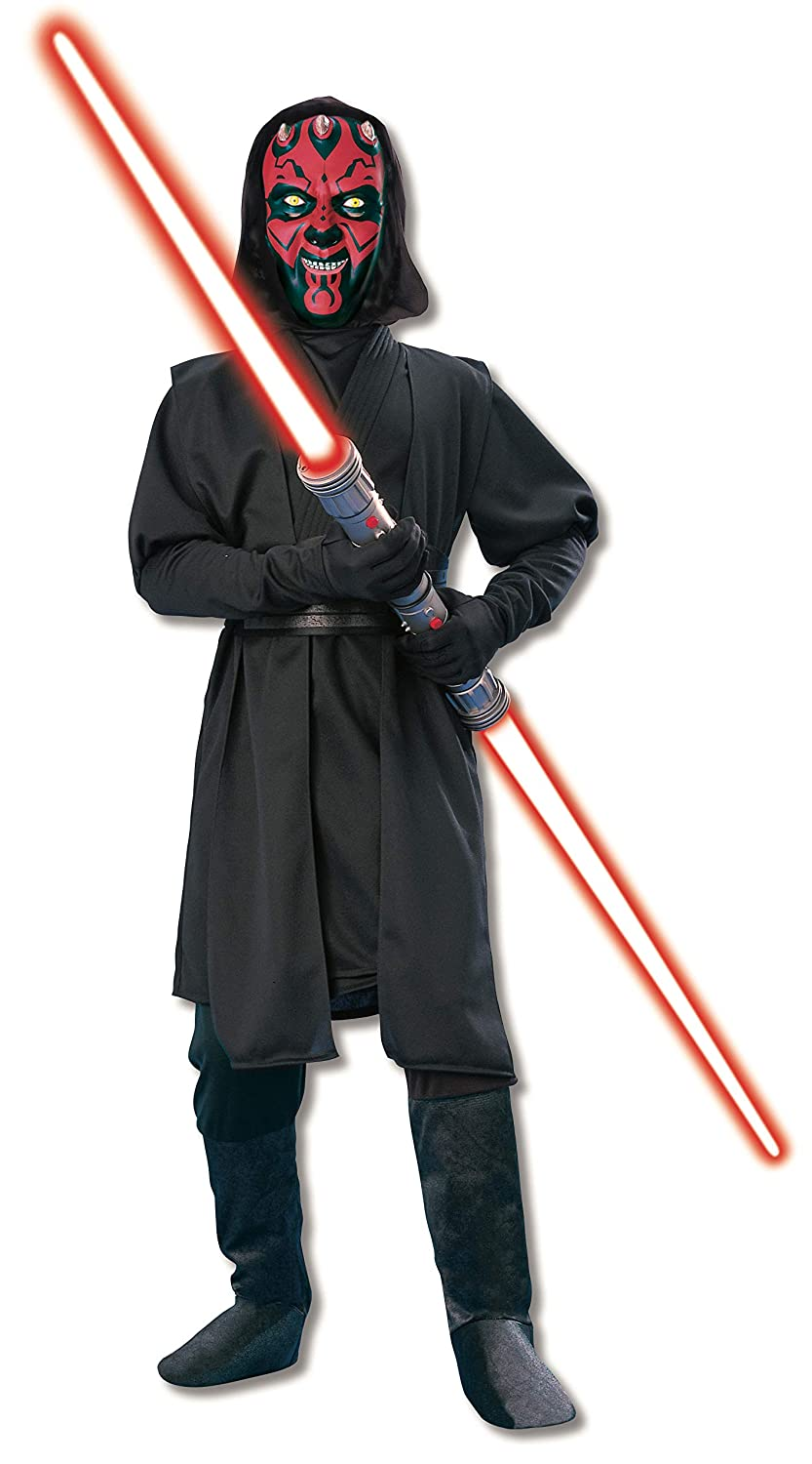 Star Wars Deluxe Darth Maul Childs Costume, Medium by ...