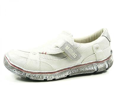 Mustang - Mocasines de Material Sintético para mujer plateado Silber (21 silber): Amazon.es: Zapatos y complementos