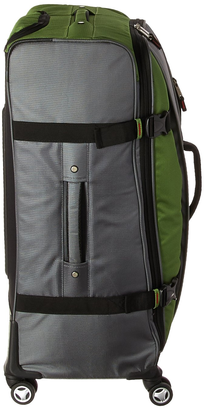 Athalon Hybrid Spinners Luggage 3 Pc Set Grass Green//Gray