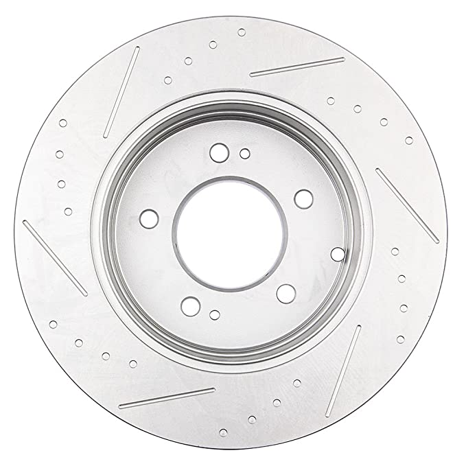 Amazon Com Brakes And Rotorseccpp Brake Kit 4pcs Drilled Slotted