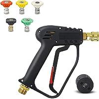 3000 PSI hogedrukreiniger met 5 sproeikoppen, schoner pistool Car Wash waterpistool voor autoreiniging