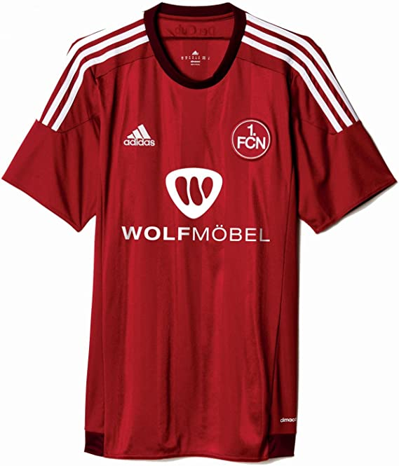 adidas Herren Trikot 1 FC Nürnberg Heim