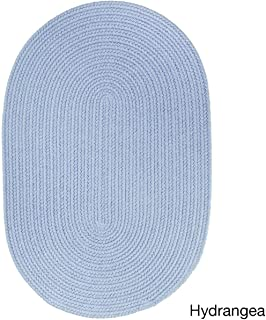 product image for Rhody Rug Venice Indoor/Outdoor Oval Braided Rug (7' x 9') Light Blue