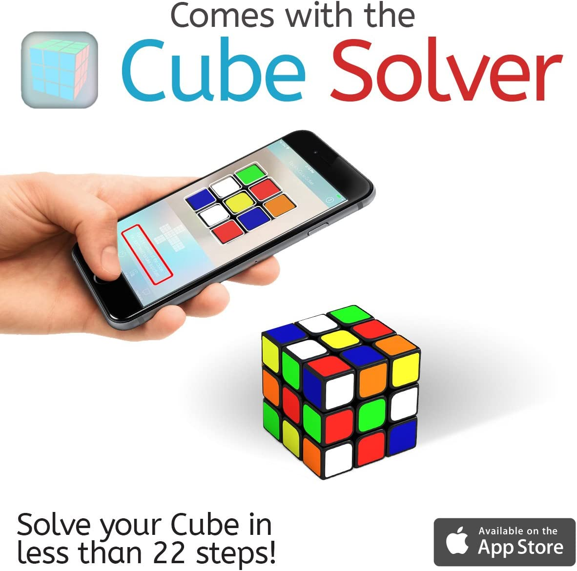 Cube Solver application available in IOS devices
