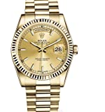 Rolex Day-Date President 36mm Yellow Gold Watch Champagne Dial 2016