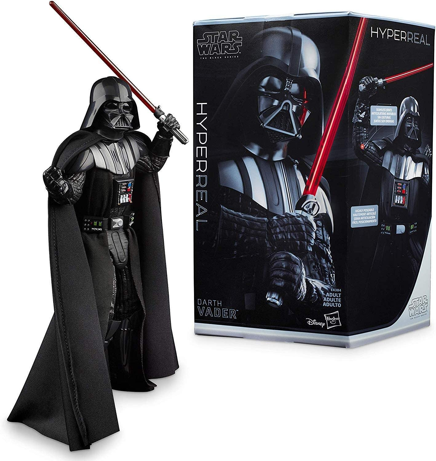 Amazon Com Star Wars The Black Series Hyperreal Episode V The Empire Strikes Back 8 Scale Darth Vader Action Figure Collectible Toys Games