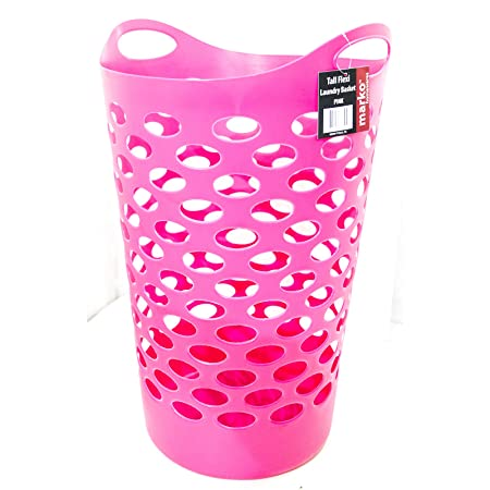Tall Plastic Laundry Basket Stunning Marko Homewares Plastic Laundry Basket Storage Flexible Flexi Tall 60