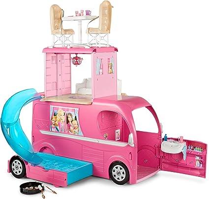 Barbie Caravana Accesorios Para Las Munecas Mattel Cjt42 Amazon