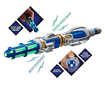 Réplica del Destornillador Sónico del 12° Doctor Who - Second Sonic ...