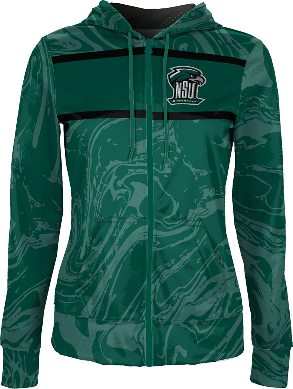 ProSphere Northeastern State University Girls Zipper Hoodie Ripple School Spirit Sweatshirt