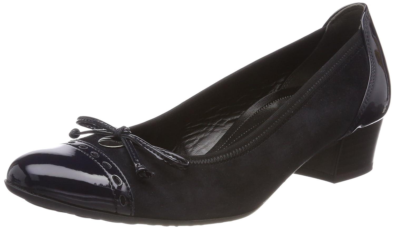 Gabor Shoes Comfort Fashion, Zapatos de Tacón para Mujer 40 EU|Azul (Pazifik)