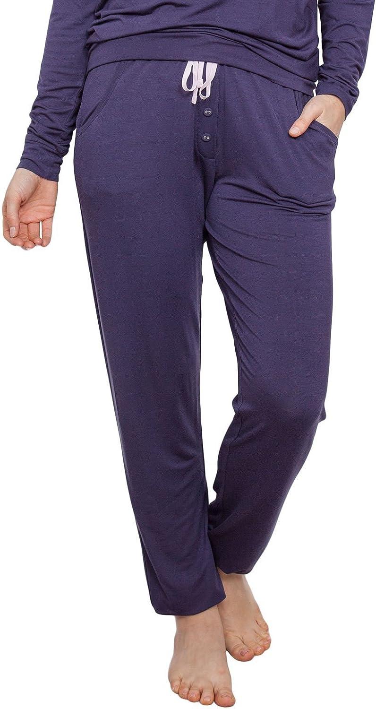 Cyberjammies 3874 Women's Cassie Purple Pajama Pyjama Pant