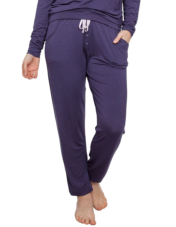TALLA 34. Cyberjammies 3874 Women's Cassie Purple Pajama Pyjama Pant