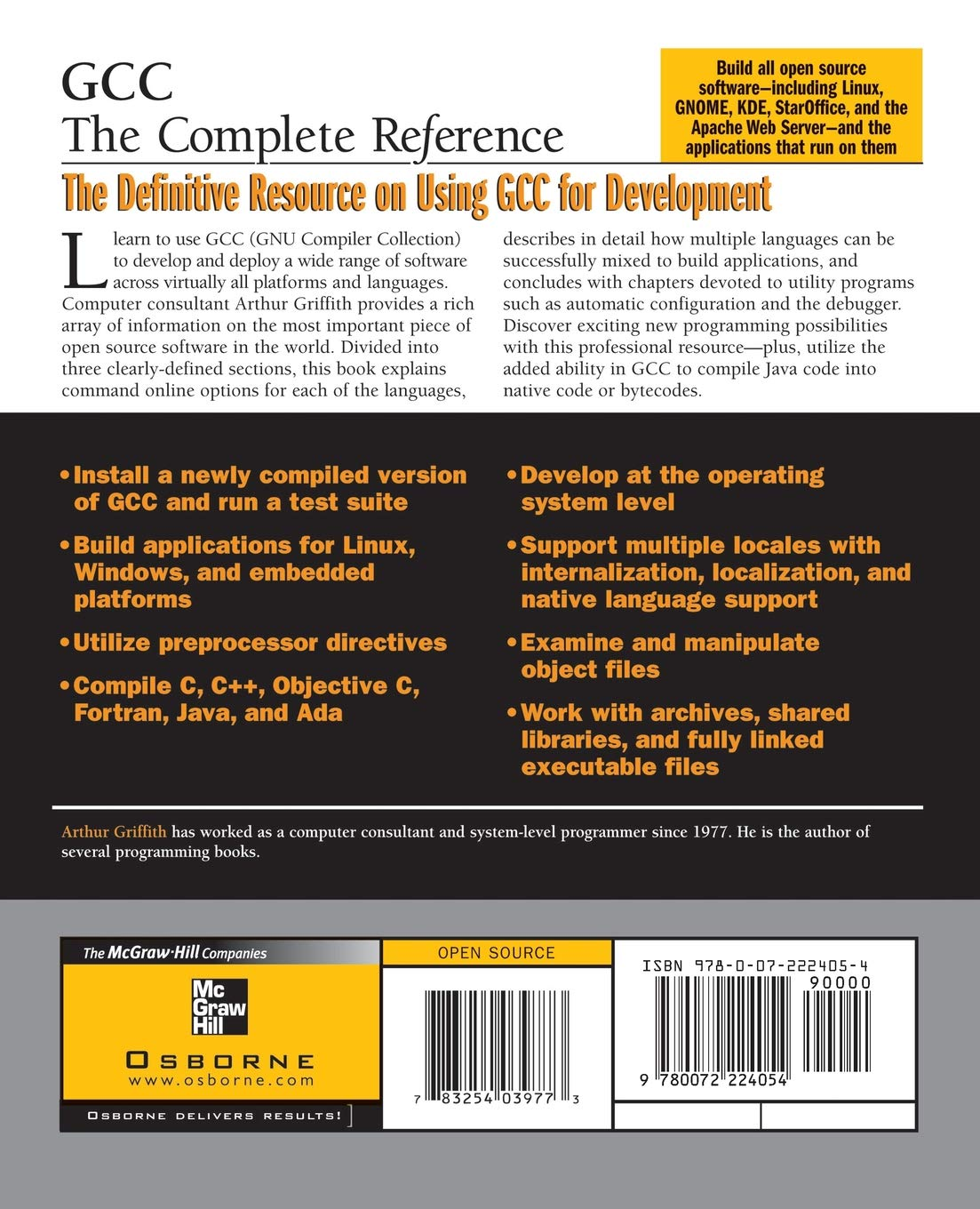 Buy GCC: The Complete Reference Book Online at Low Prices in