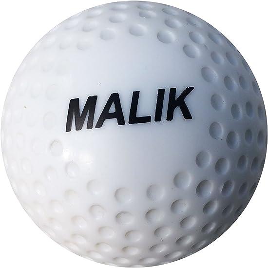 Hockey Ball - Pelota de hockey, color blanco: Amazon.es: Deportes ...