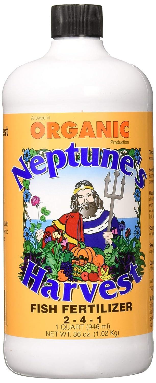 Neptune's Harvest HF136 Hydrolyzed Fish Fertilizer 2-4-1 , 36 Ounce