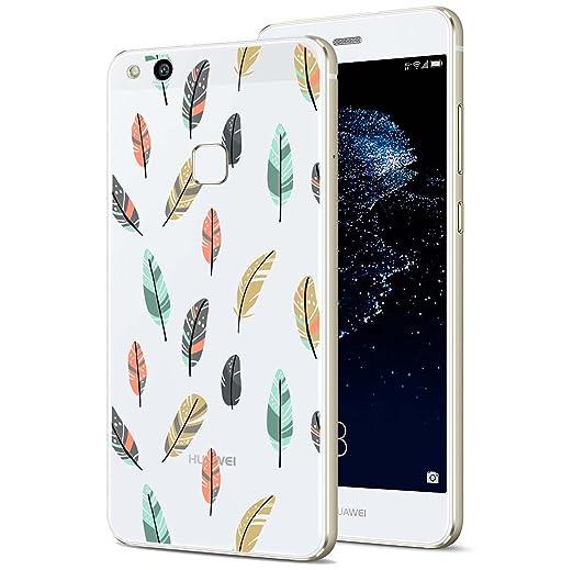 4 opinioni per Huawei P10 Lite Custodia, ocketcase® Morbido Flessibile TPU Gel Silicone Cover