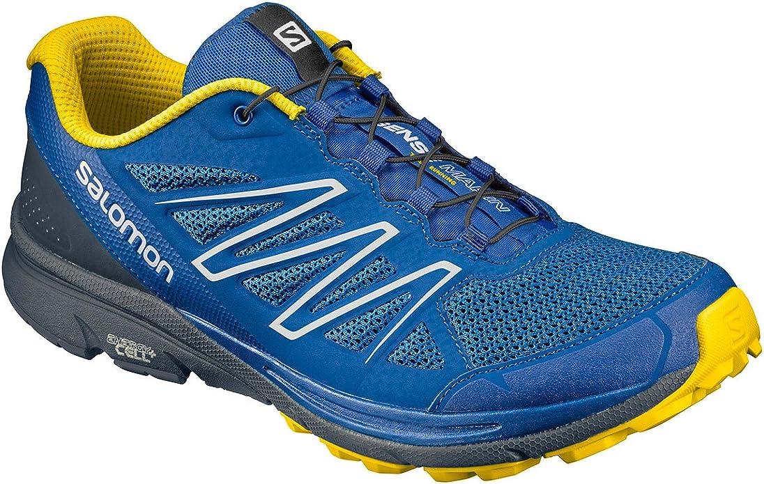 Salomon Sense Marin, Zapatillas de Trail Running para Hombre, Azul ...
