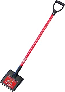 product image for Bully Tools 91105 11-Gauge Shingle Remover with Fiberglass D-Grip Handle and 7 Beveled Teeth